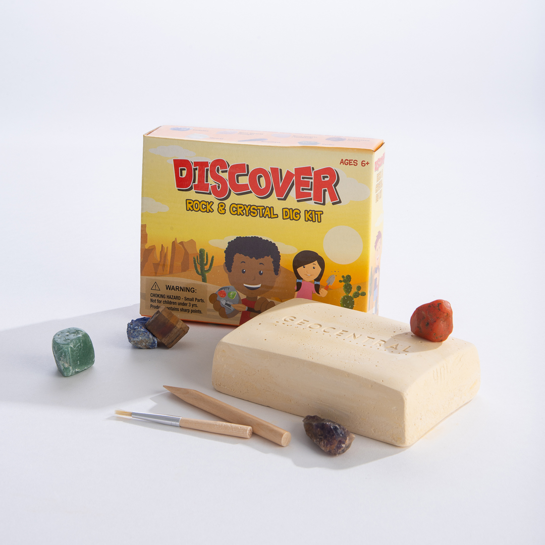 Discover Rock and Crystal Dig Kit